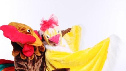 Mascot: Costume of a Chicken