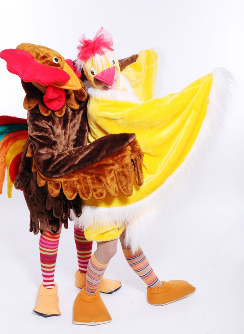 Mascot: Costume of a Chicken