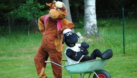 Mascot: Costume of a Cow