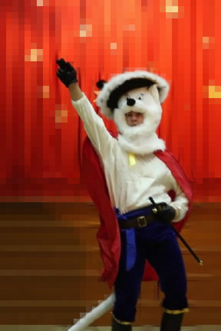 Mascot: Costume of a Cat