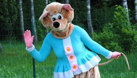 Mascot: Costume of a Mouse
