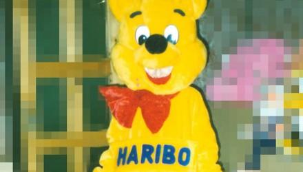 Mascot: Haribo the Bear