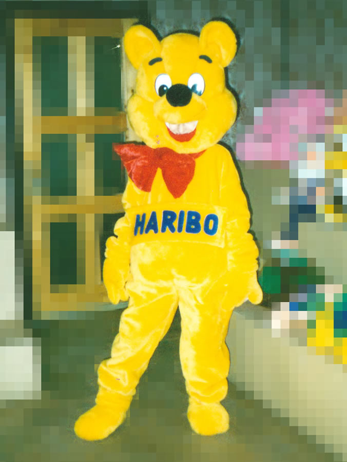 Mascot: Haribo the Bear
