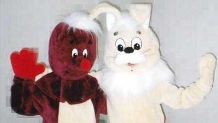 Mascot: Costume of a Mole