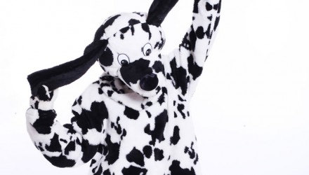 Mascot: Costume of a Dalmatian Dog