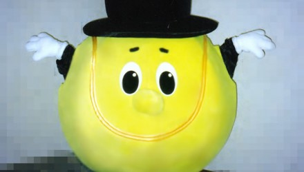 Mascot: Tennis ball
