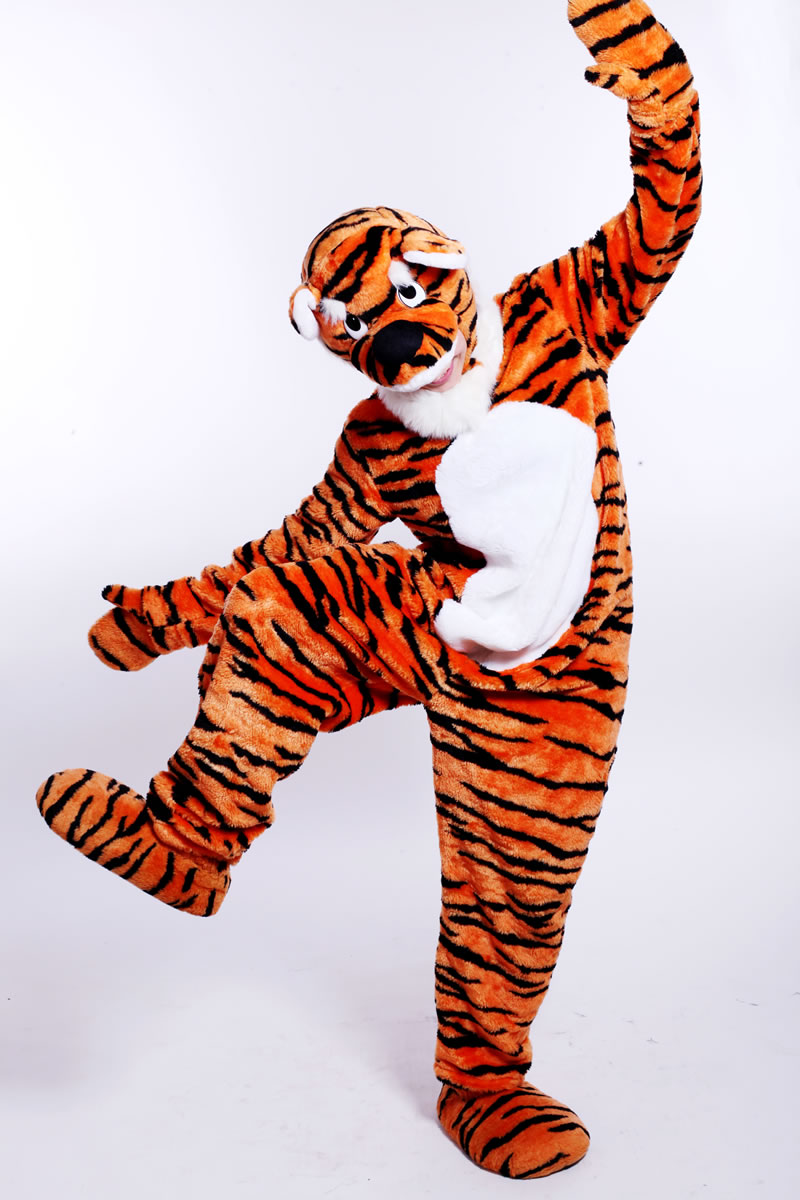 Mascot: Costume of a Tiger