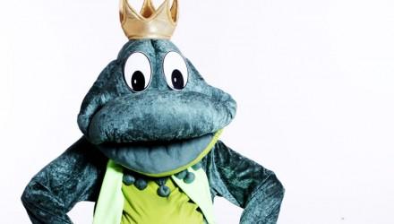 Mascot: Costume of a Frog