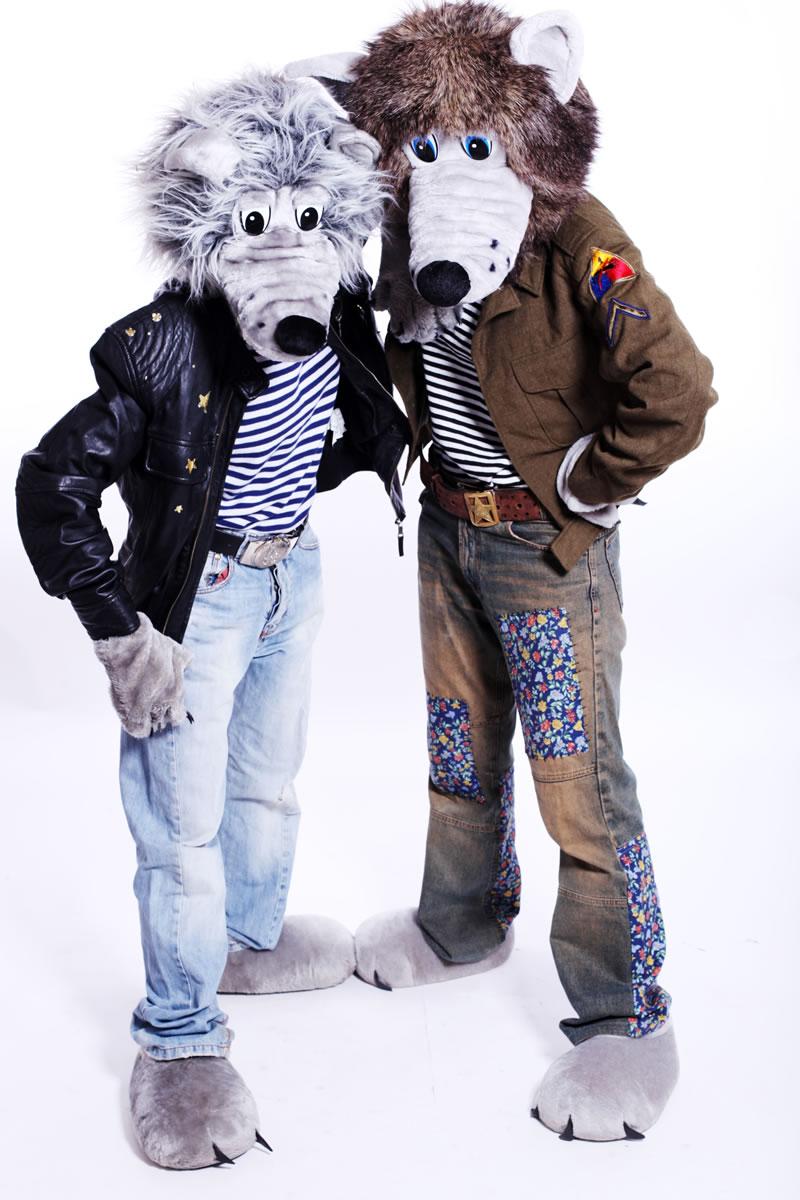 Mascot: Costume of a Wolf