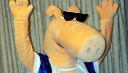 Cesu Alus mascot: Limpo costume