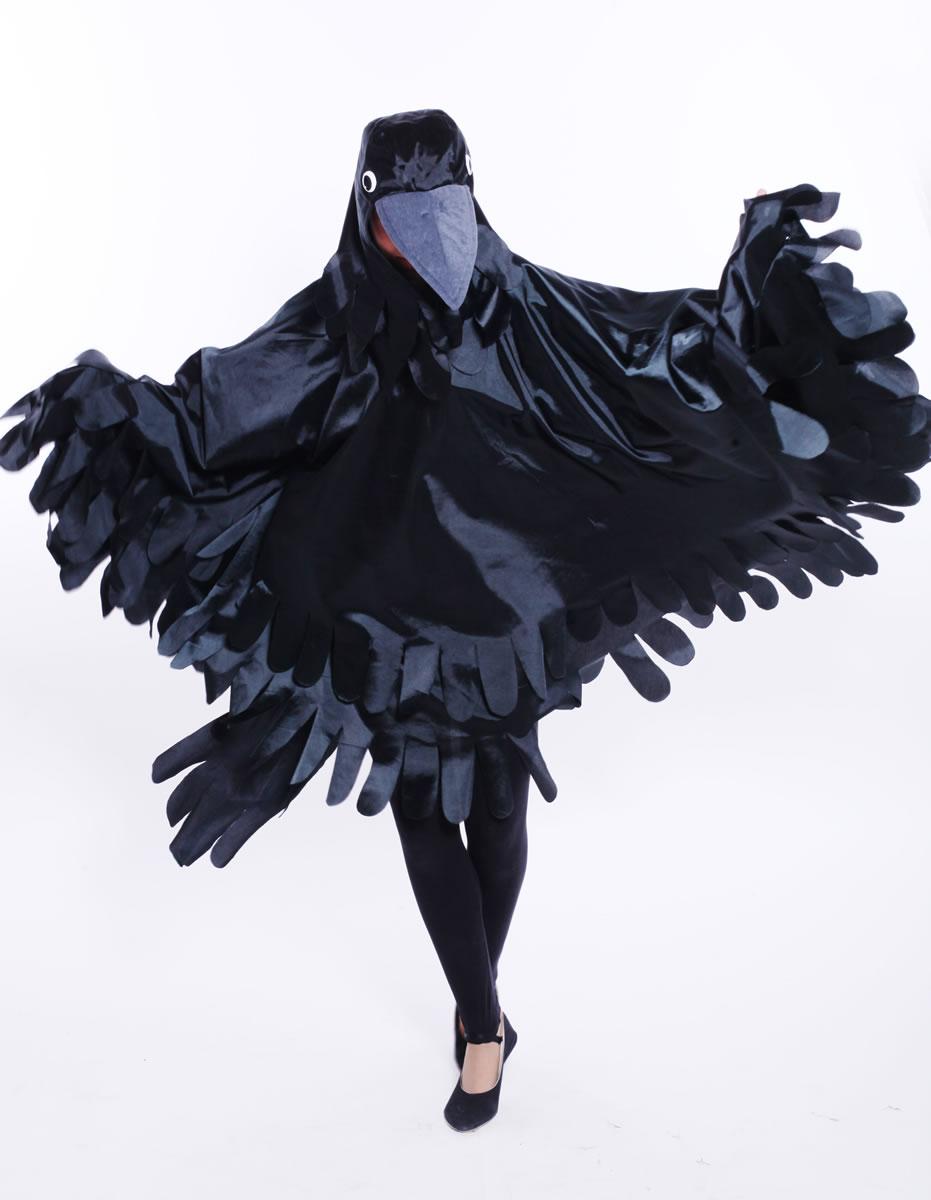 Как сшить крылья вороны для костюма