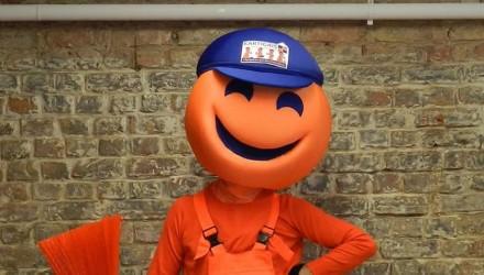Kartigais mascot: costume head only