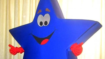 Hesburger's mascot: Star costume