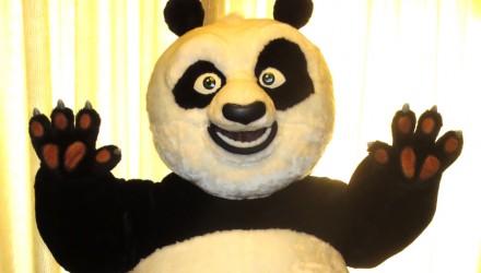Kung Fu Panda mascot costume
