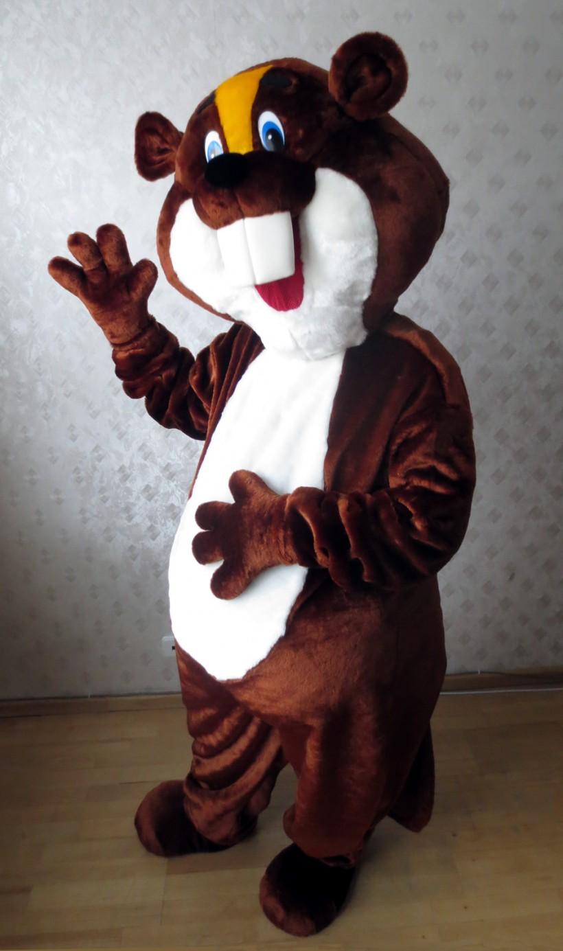 Mascot: Costume of a Beaver
