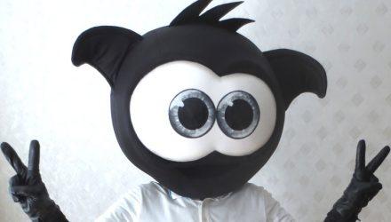 Pins' mascot costume