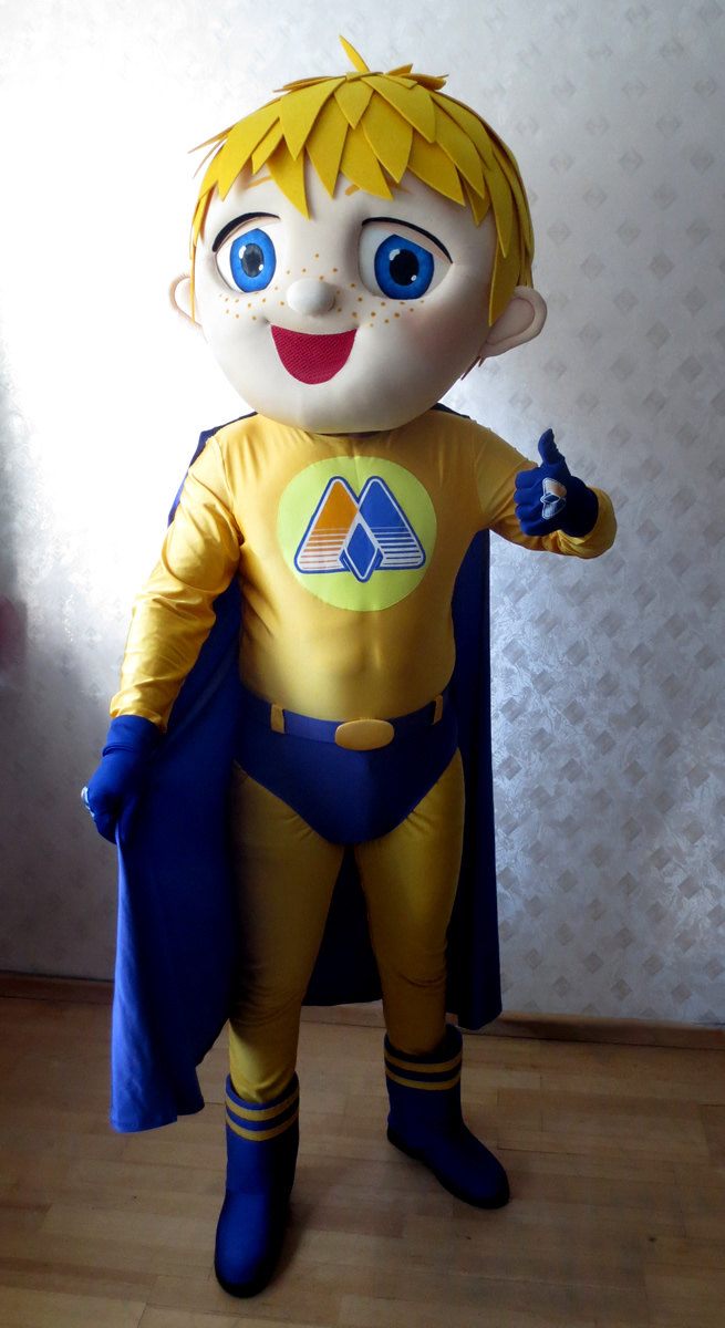 Mego mascot: costume head only