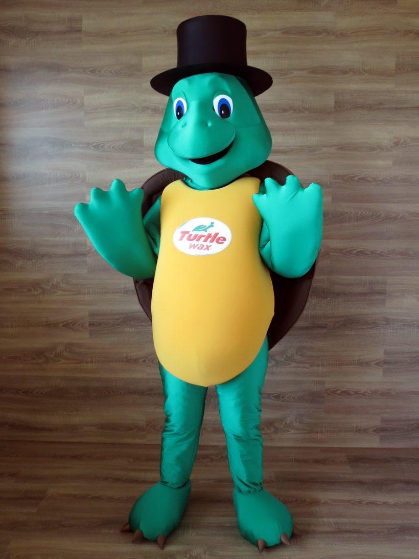 Turtle Wax's mascot: Turtle costume