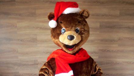 BTA's mascot: Bear costume