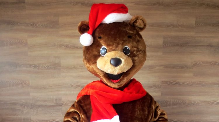 Талисман BTA: Ростовая кукла медведя