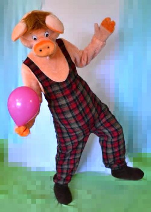 Mascot: Costume of Piggy