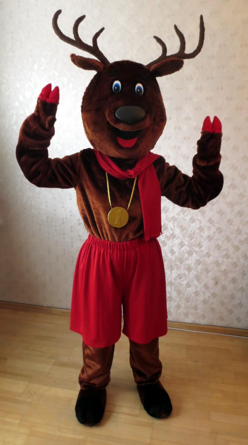 Mascot: deer costume
