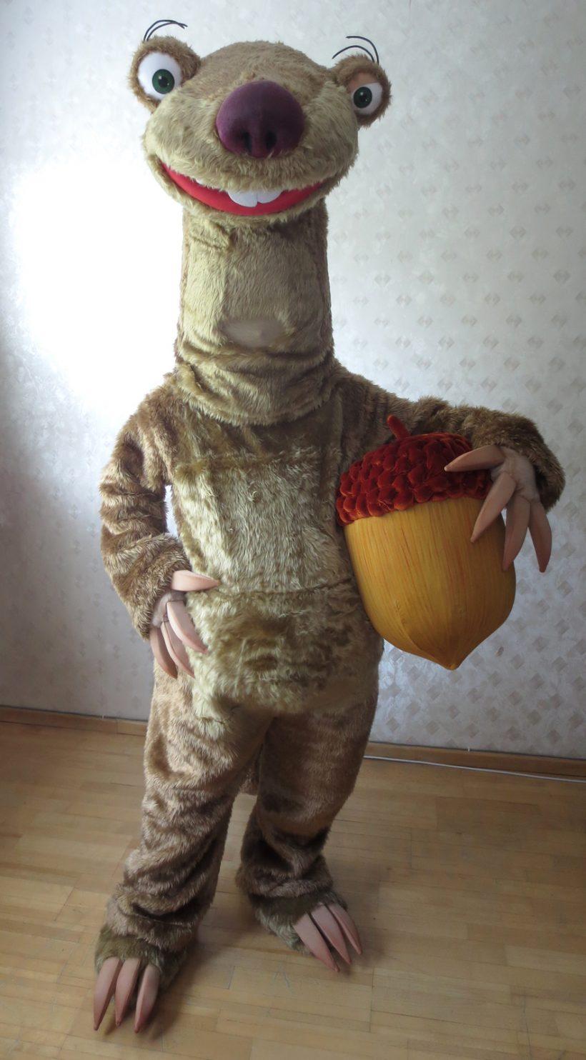 Sid mascot costume (Ice Age)