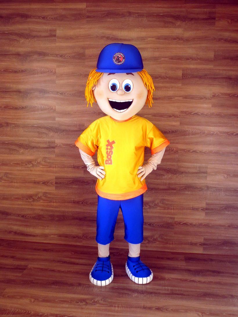 Bosix' mascot: boy costume
